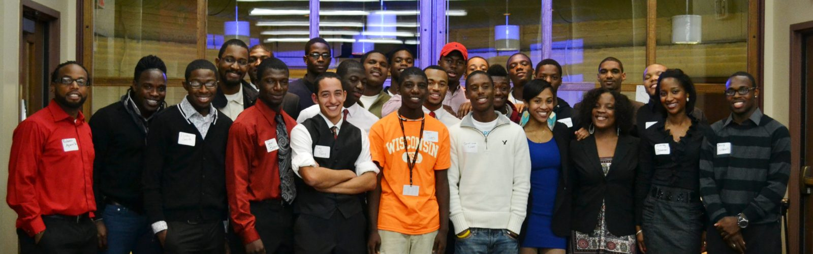 The original members of the UW-Madison Wisconsin Association of Black Men in 2011.