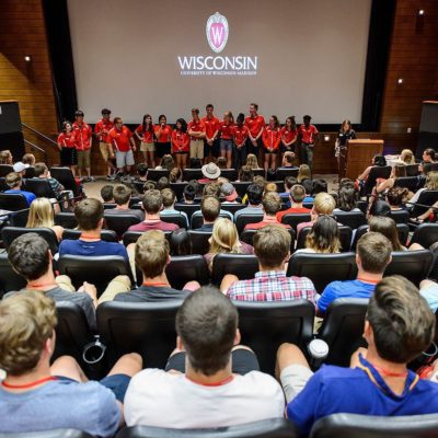 Student Orientation, Advising and Registration sessions meet all summer at UW-Madison.