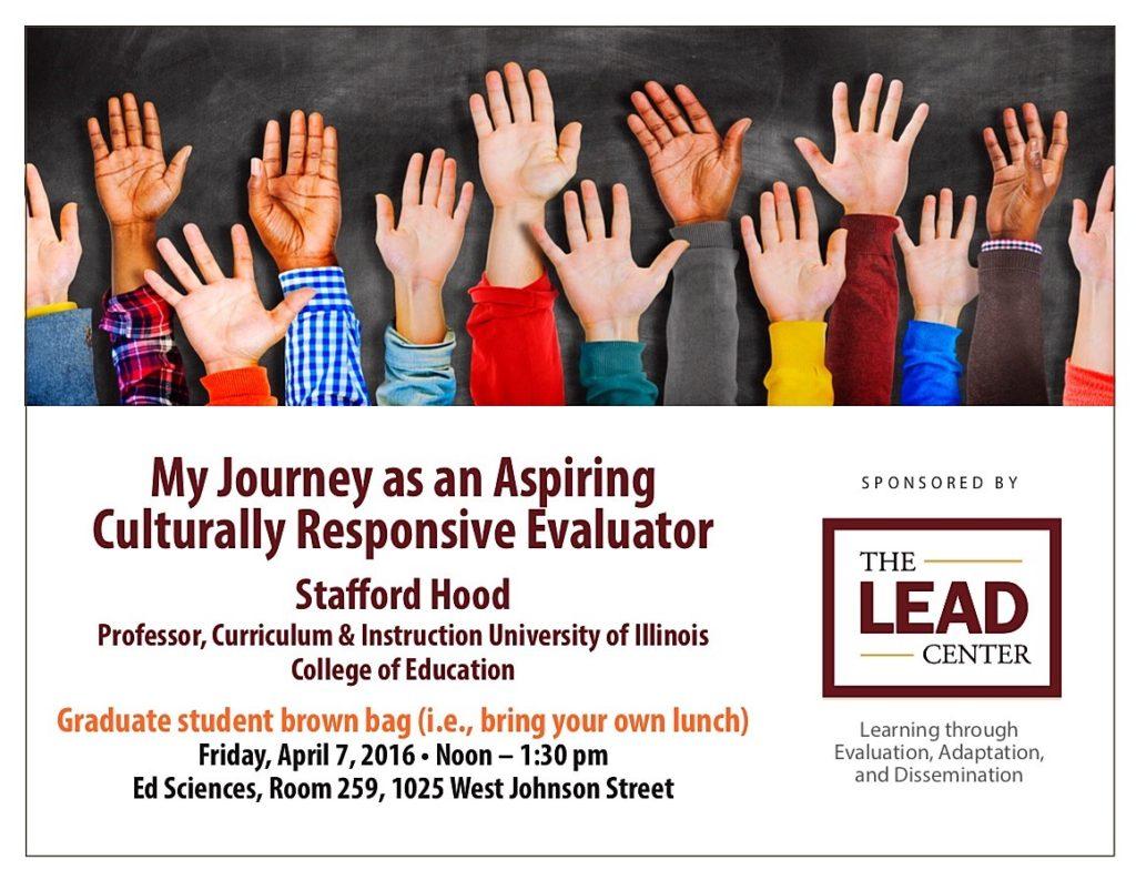 My Journey as an Aspiring Culturally Responsive Evaluator