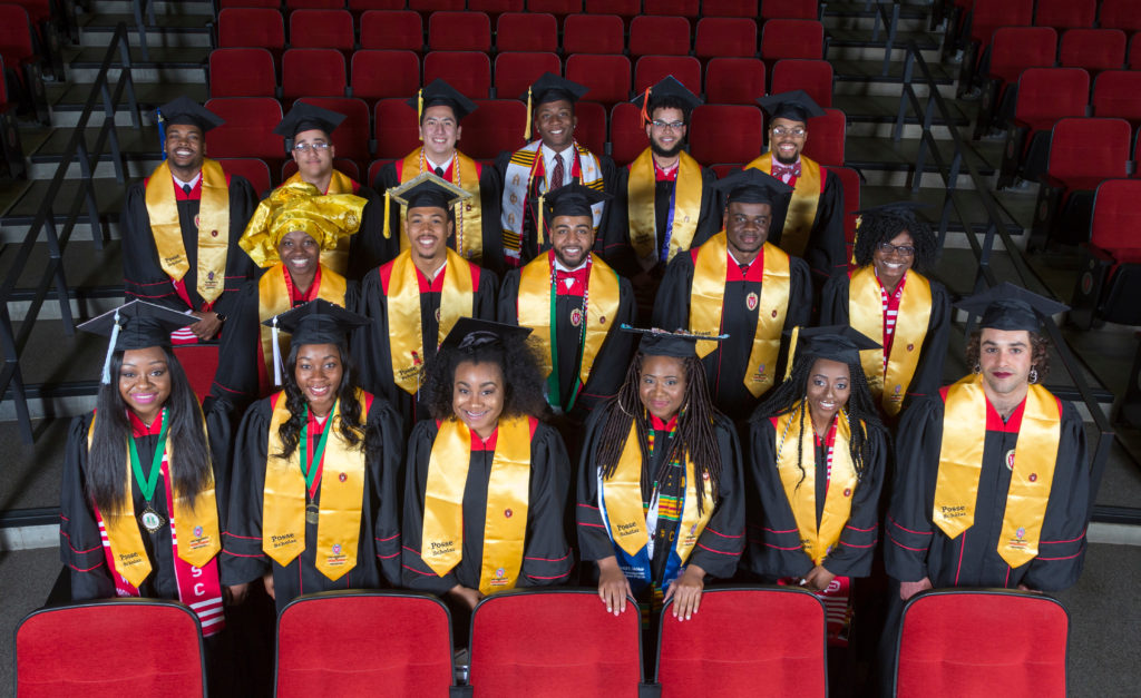 DDEEA Graduation Posse Scholars. May 12, 2017. (Photo © Andy Manis)