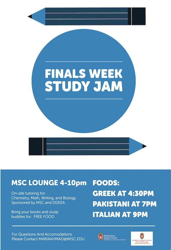 Study Jam Poster