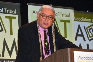 Walter Echo-Hawk, keynote speaker for the 2017 UW-Madison Diversity Forum.