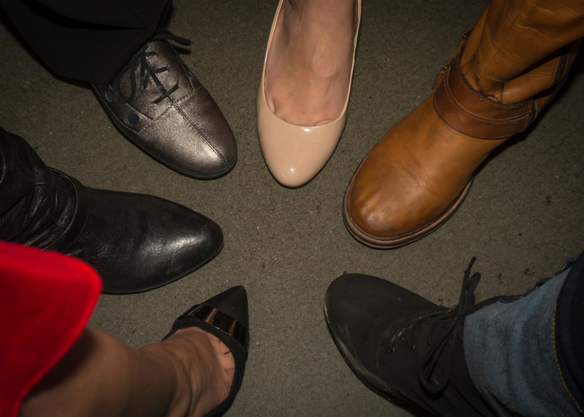 Walking in Our Shoes, DDEEA Outstanding Women of Color March 7, 2017. (Photo © Andy Manis)