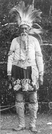 Lester Skeesuk (Brothertown Indian), ca. 1920