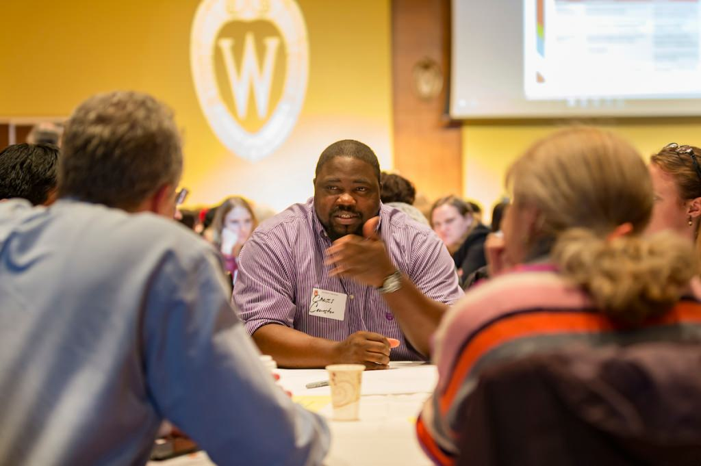 The two-day Diversity Forum on Nov. 7 and 8 proved popular, with about 650 people taking in all or part of the first day, and for the first time, a second day of workshops, which drew about 250 participants. PHOTO: ANDY MANIS