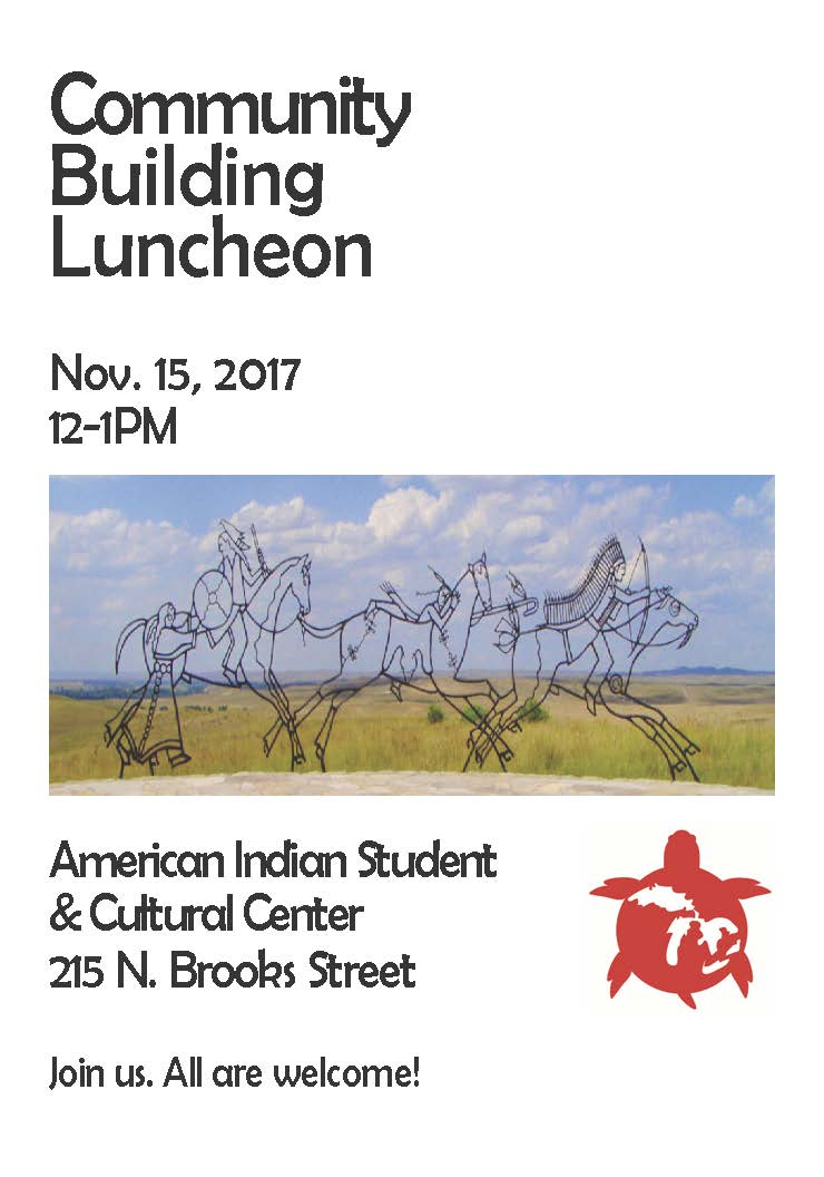 Native American Community Building Luncheon