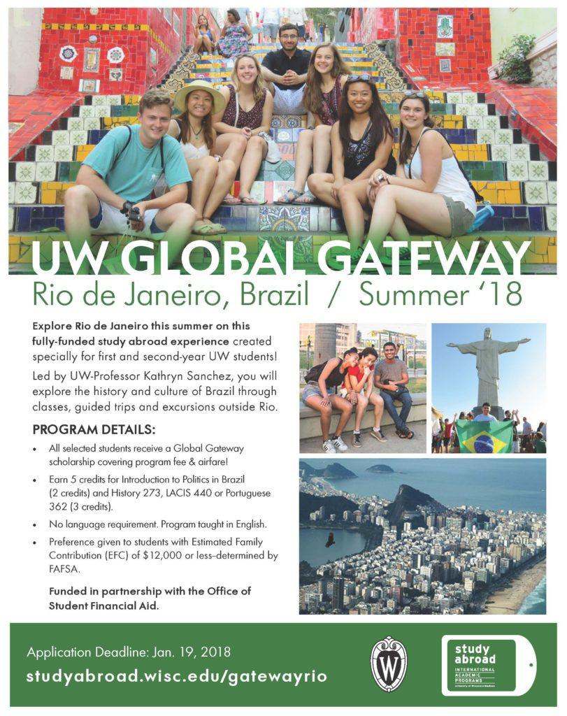 2018 UW Global Getaway