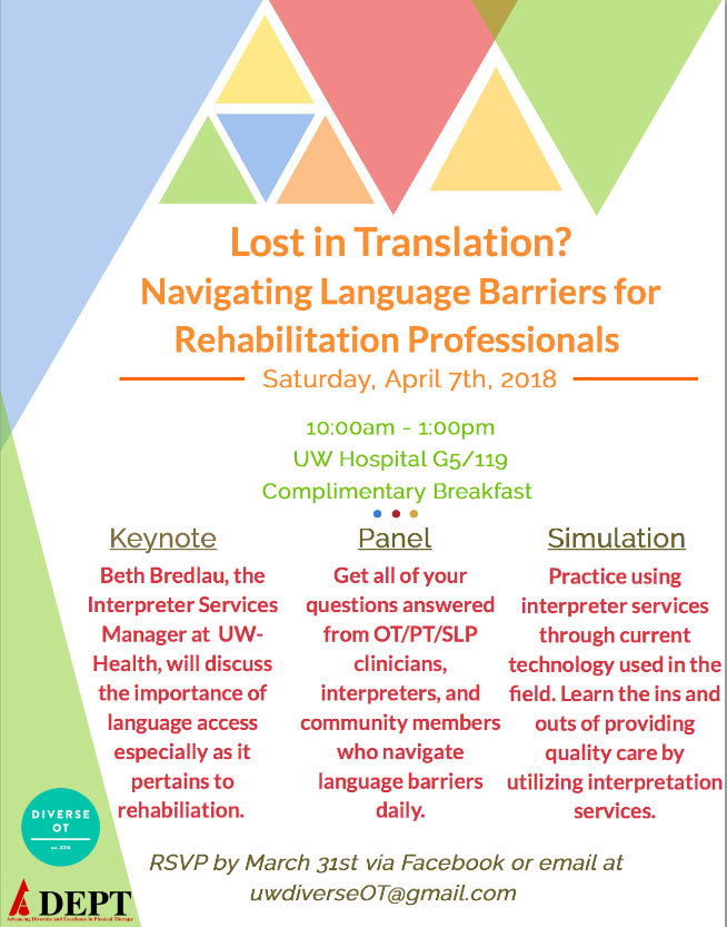 Lost in Translation? Navigating Language Barriers for Rehabilitation Professionals