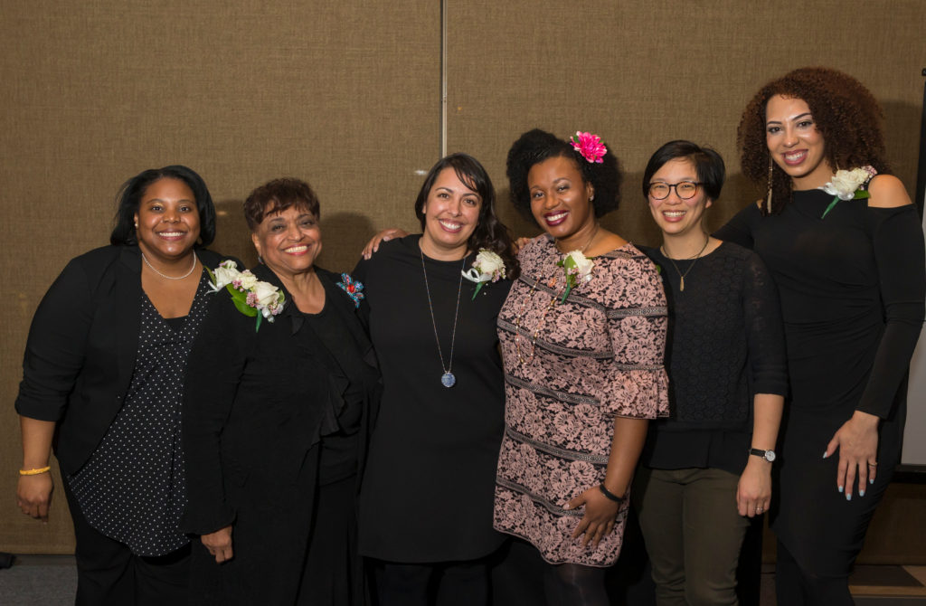 2017 Outstanding Women of Color Awardees, Feb. 22, 2018. (Photo © Andy Manis)