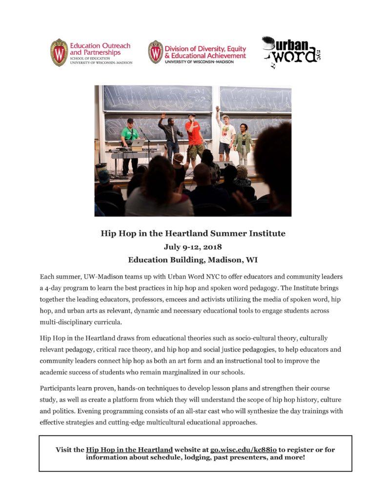 Hip Hop in the Heartland flyer