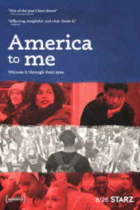 "cover art for ""America to Me"" series"