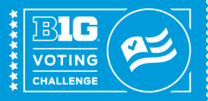Big Ten Voting Challenge poster