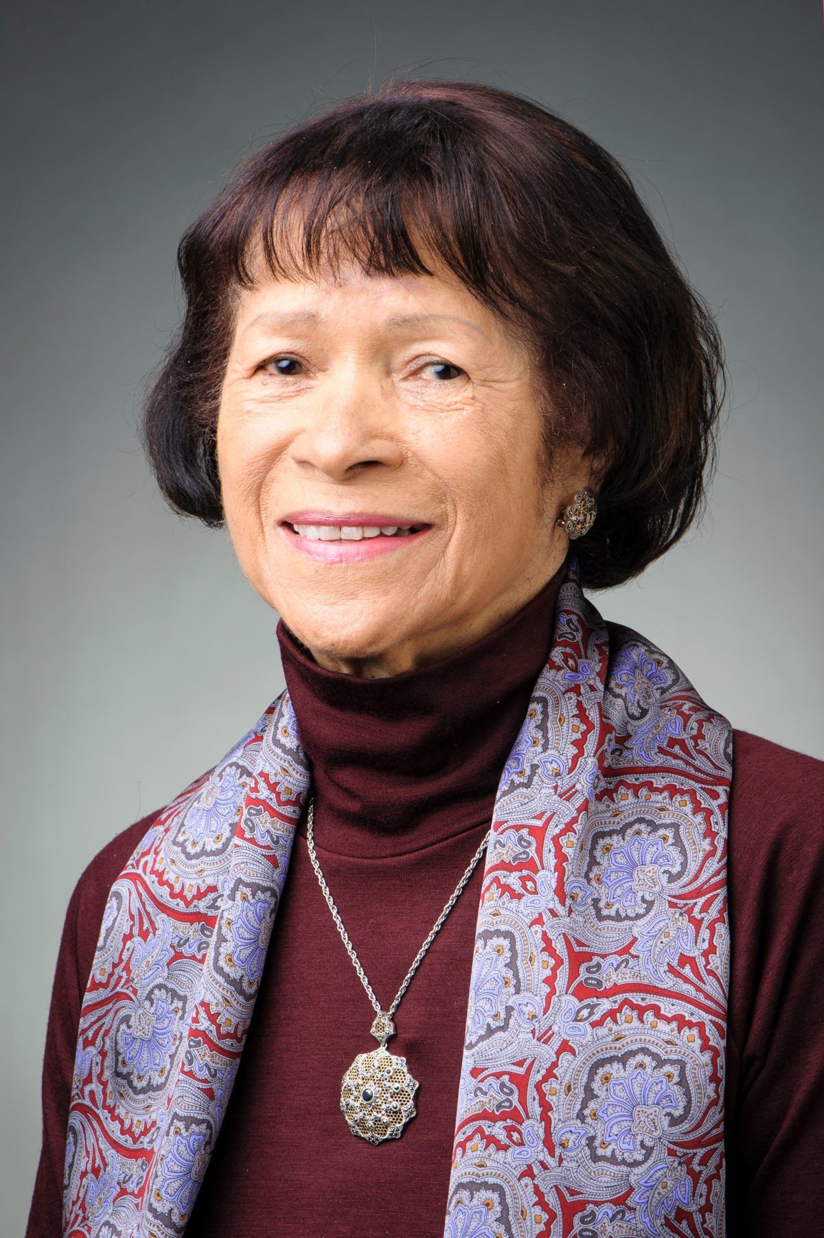 Mercile Lee, emeritus Assistant Vice Chancellor and Director of the Chancellor's and Powers-Knapp Scholarship Programs at the University of Wisconsin-Madison, is pictured on Nov. 11, 2013. (Photo by Bryce Richter / UW-Madison)