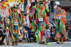 On Wisconsin Spring Powwow - Alliant Energy Center Arena - UW-Madison American Indian Student Organization Wunk Sheek