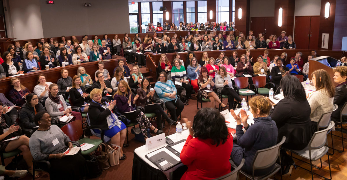 Women In Leadership Symposium in Granger Hall March 27, 2019.