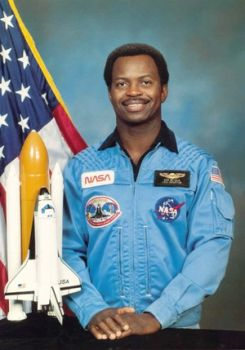 Ronald Erwin McNair (October 21, 1950 – January 28, 1986) was an American NASA astronaut and physicist. He died during the launch of the Space Shuttle Challenger on mission STS-51-L, in which he was serving as one of three mission specialists in a crew of seven.