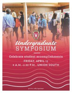 Attend the Undergraduate Symposium om April 12