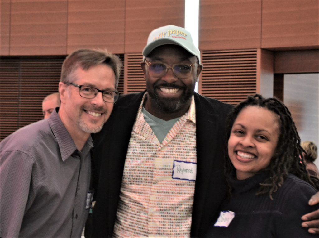 Will Clifton, Ray Neal and Sabrina Benson at the LI 20th Anniversary celebration.