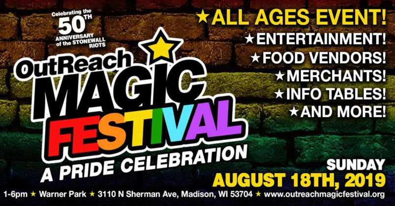 OutReach Magic Festival flyer