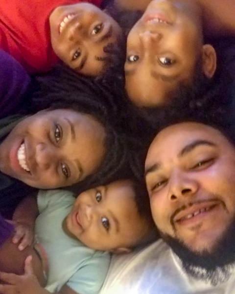 Jasmine Zapata and her family