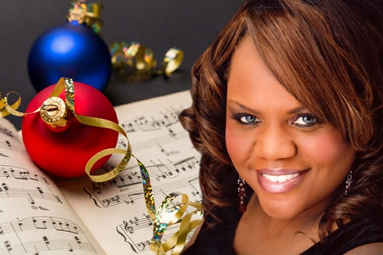 Opera singer Prenicia Clifton, the director of precollege and youth program compliance in the UW–Madison Division of Continuing Studies, has been presenting an annual holiday concert since her father's death in 2011. The concerts honor her father and raise money for charities.SUBMITTED PHOTO ILLUSTRATION