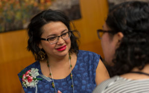 2019 Honoree Mariela Victoria Quesada Centeno at the Outstanding Women of Color Awards on March 5, 2019, at the Pyle Center.