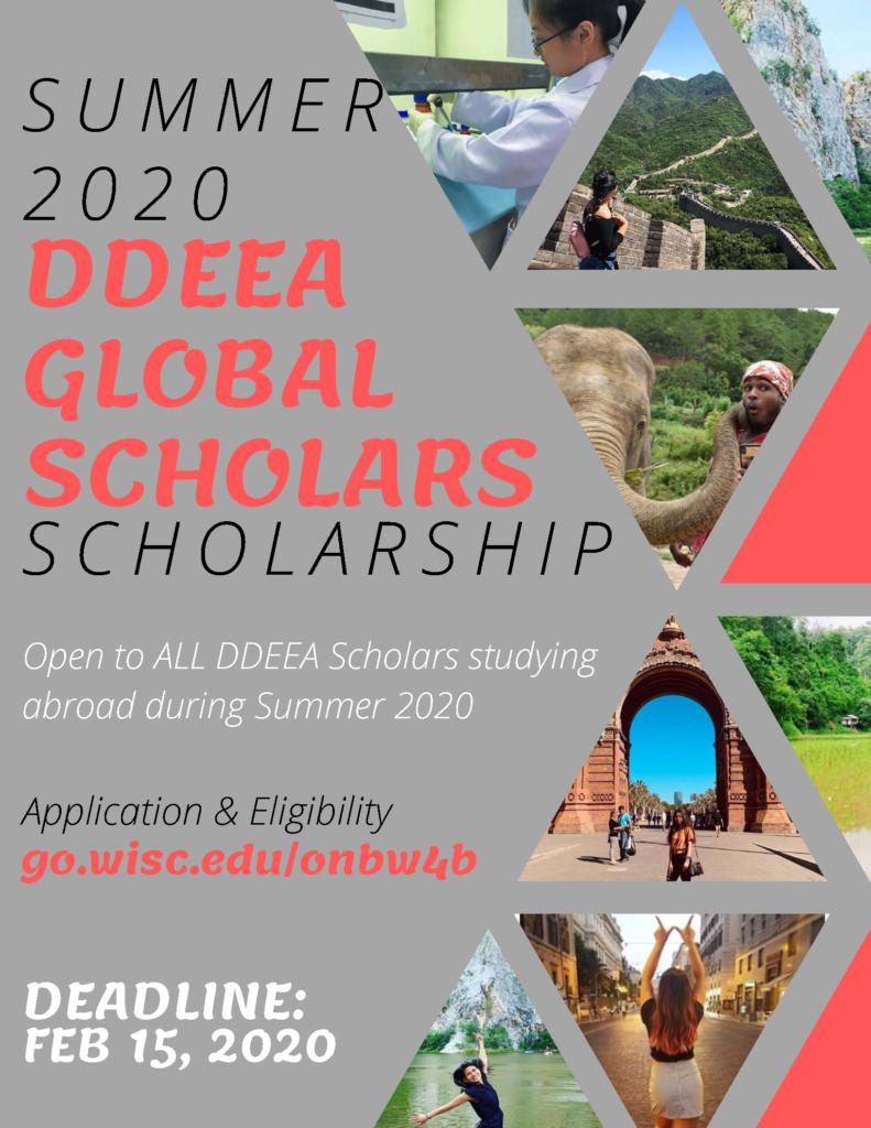 DDEEA Global Scholars poster