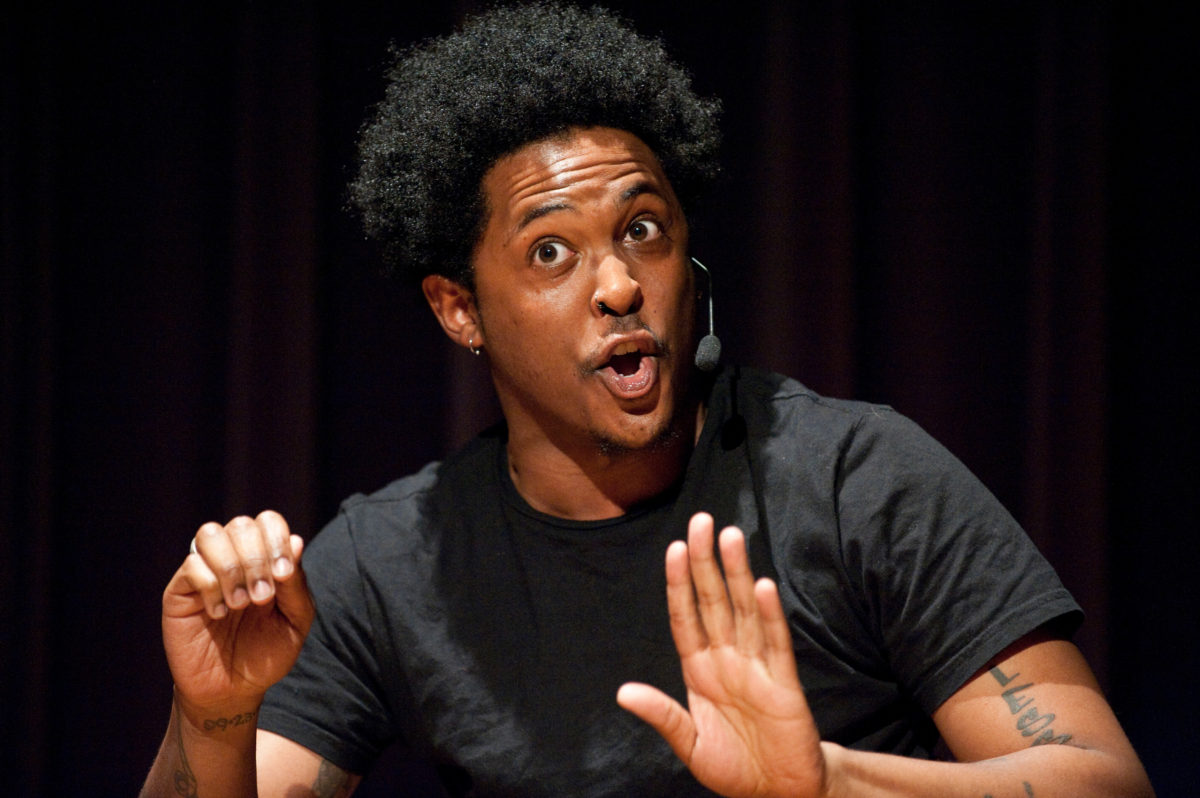 UW-Madison First Wave Graduate and nationally-known Poet Danez Smith