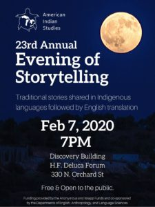 Evening of Storytelling poster