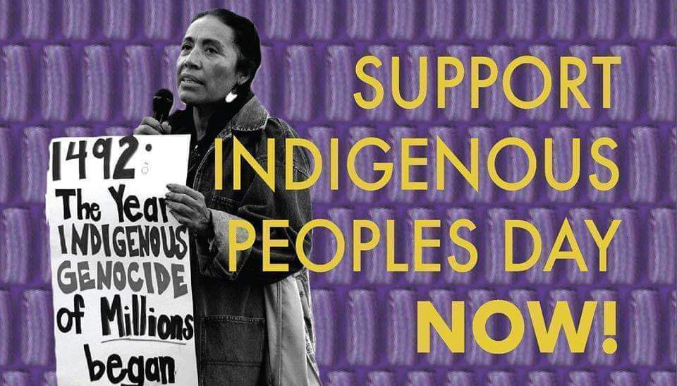 Support Indigenous People Day