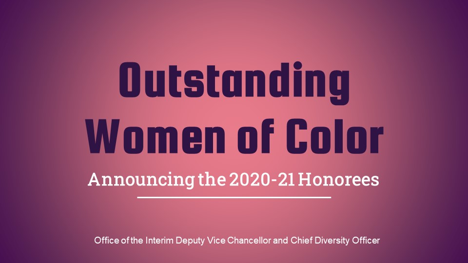 Outstanding Women of Color