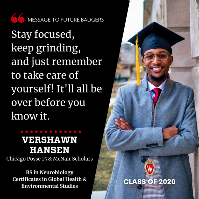 A graphic showing a man in a suit with a graduation cap on and a quote which can be found in the post at the link.
