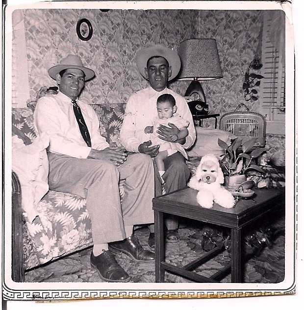 Barbara Medina, as an infant, is shown with her father and grandfather in 1957. The Medinas moved from Texas to Milwaukee for better opportunities. PHOTO COURTESY OF WISCONSIN HISTORICAL SOCIETY