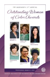 Outstanding Women of Color Program cover