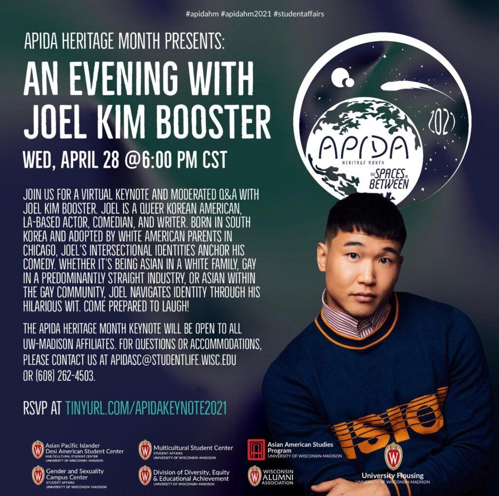 APIDA Heritage Month feature Joel Kim Booster